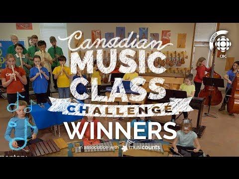 Canadian Music Class Challenge 2017 Winners #CBCMusicClass