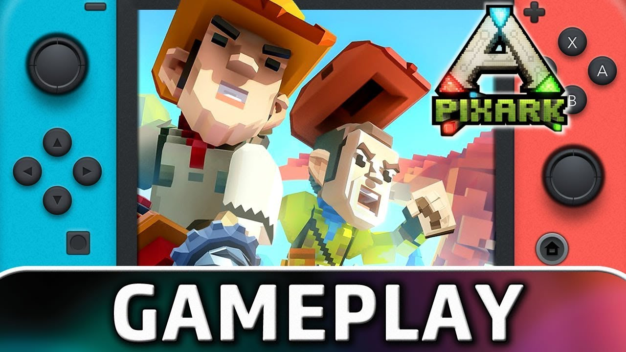 PixARK | First 30 Minutes on Nintendo Switch