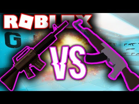 WHAT IS THE BEST RIFLE IN ROBLOX...
