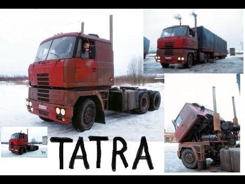 Из самосвалов в тягачи.Супер ТАТРА из Пскова и Татра 815 самосвал.
