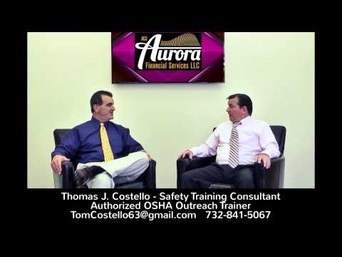 MCC Member Thomas Costello - Safety Training Consultant