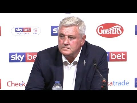 Aston Villa 0-1 Fulham - Steve Bruce Full Post Match Press Conference - Championship Play-Off Final