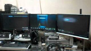 3 Monitors : Wii Metroid Other M (Dolphin)