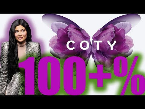 Best Performing Stock 2019 +100% Coty Cosmetics Kylie Jenner