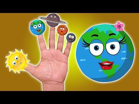 Планеты Палец Семья | Палец песня | Компиляция для малышей | детского стишка | Planet Finger Family
