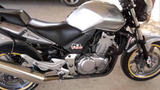 honda cbf 500 with mivv exhaust