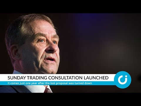 Sunday trading consultation launched