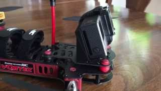 ImmersionRC Vortex GoPro Incliner v.1 3D Printed by YAKFpv