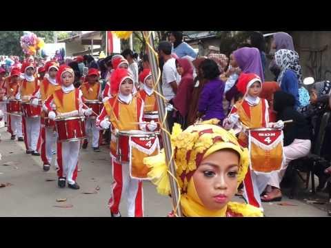 Karnaval kelas unggulan rappang pada17an 2014