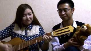Tong Hua (童话) Guitar Cover - Chinese by Mira Kasimova and Pu Zhoy