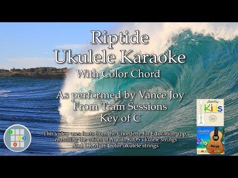 Riptide (Acoustic) Ukulele Karaoke