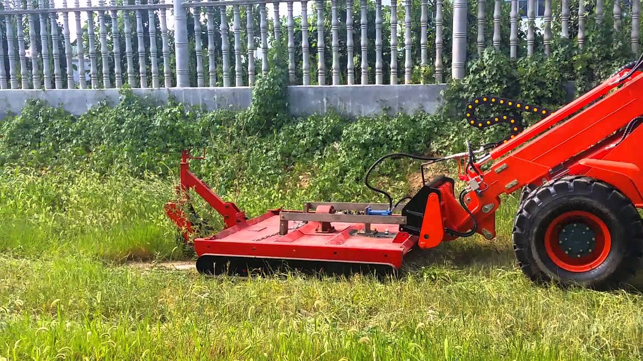 front loader mower attachment
