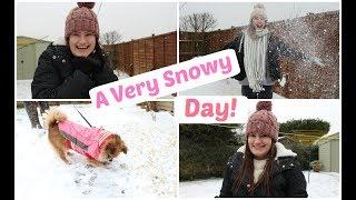 A Very Snowy Vlog!