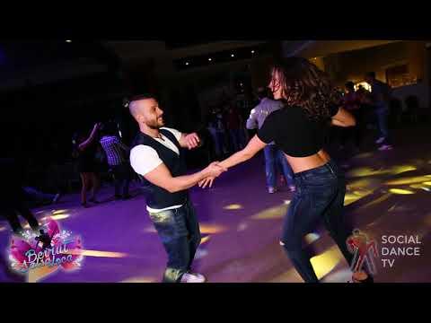 Kayce Karim Chitti & Lynn - Salsa social dancing   Beirut Salsa Loca 2018
