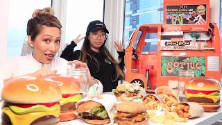 Burger Mukbang | Gorjue Foodie Lipstick Launch