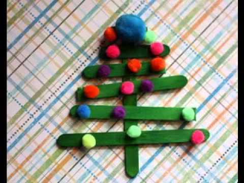 Easy Preschool Christmas Craft Ideas Youtube