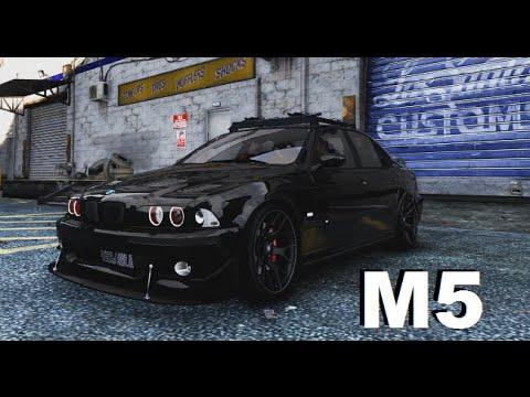 Grand Theft Auto 5 Car Wallpaper Gta V Pc Mod Bmw M5 E39 Free Download Youtube