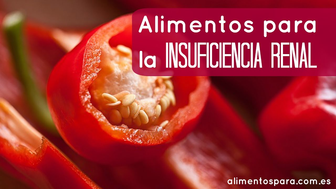 Alimentos para insuficiencia renal viyoutube for Alimentos prohibidos para insuficiencia renal