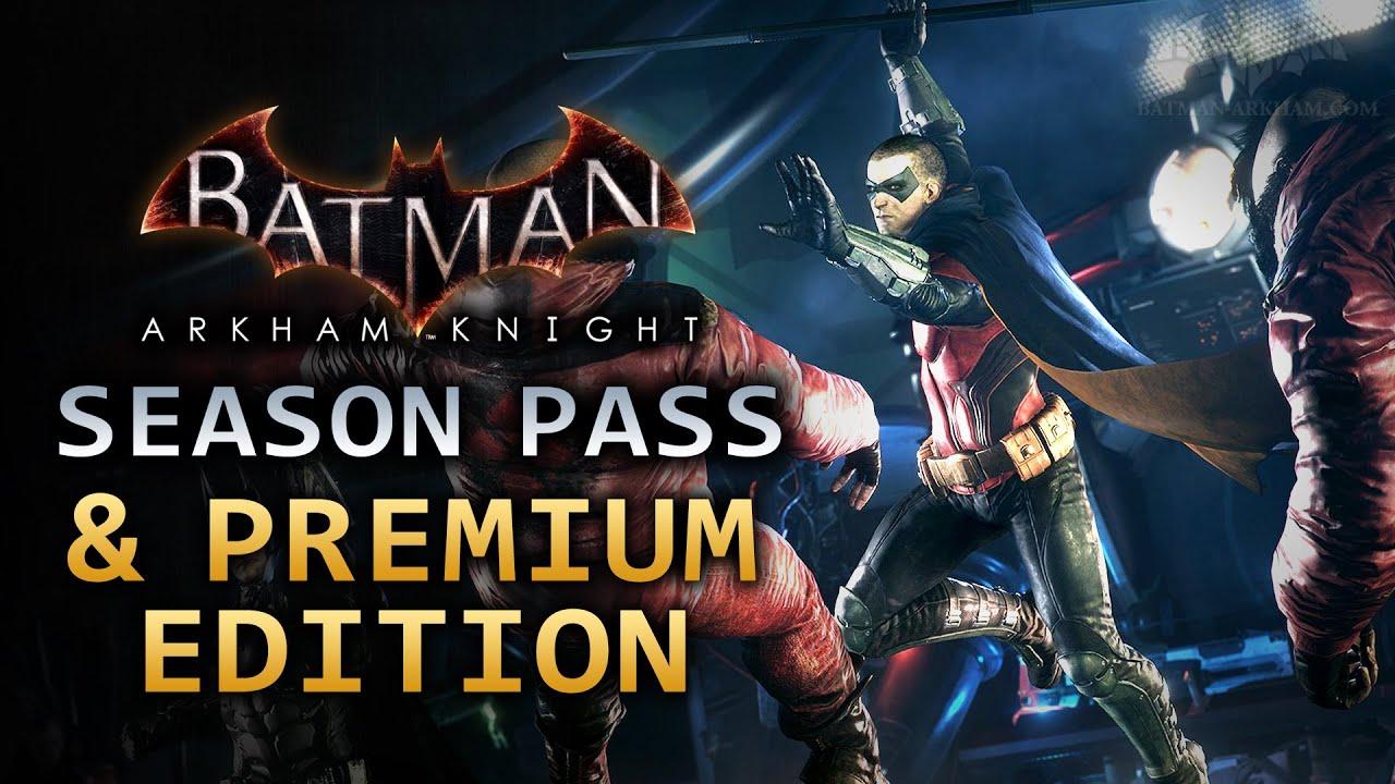 Batman: Arkham Knight Season Pass does include retailer exclusive bonus content