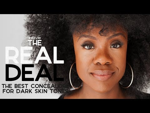 The Best Concealers For Darker Skin Tones Under $35 | The Real Deal | InStyle
