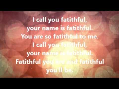 I call you Faithful Service Ready