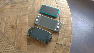 A Switch Lite Mini Review (compared to 3DS and Vita)