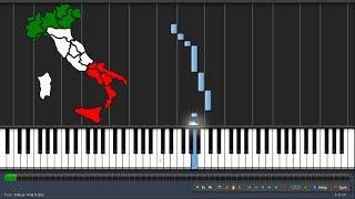Toto Cutugno - L'Italiano (l asciatemi cantare) - Piano tutorial