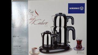 Korkmaz mia a353 çay ve kahve makinası - Mutfak Eşyaları