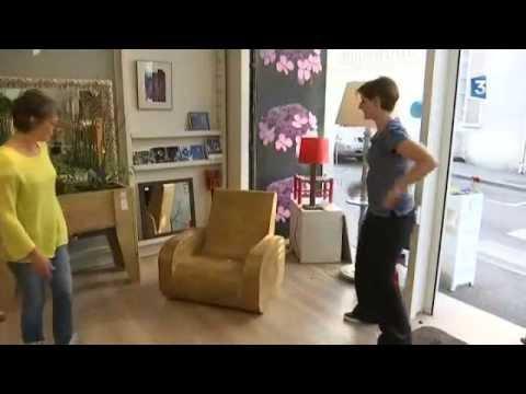 Yonne : portrait d\'une créatrice de meubles en carton