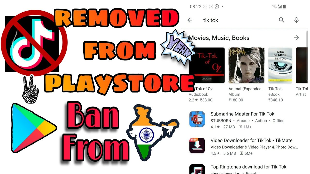 TIK TOK Is removed from Playstore | Ban In INDIA 🇮🇳