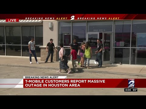 T-mobile customers report massive outage in Houston area