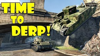 World of Tanks - Funny Moments | TIME TO DERP! (April 2018)