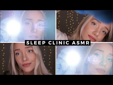 ASMR SLEEP CLINIC (Medical Exam, Head Massage, Reading) | GwenGwiz