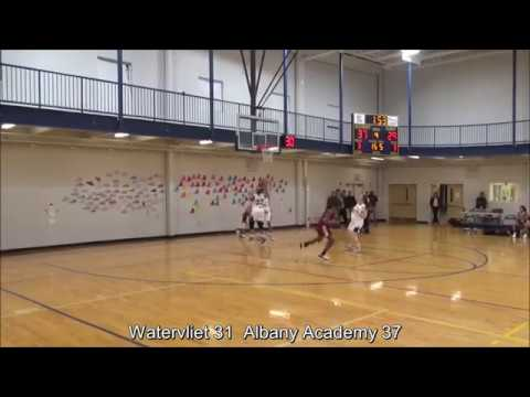 Game Highlights Girls' Varsity: Watervliet 31 vs Albany Academy 39 (F)