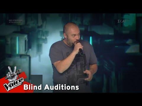 Παναγιώτης Παπαγεωργίου – Frozen | 7o Blind Audition | The Voice of Greece