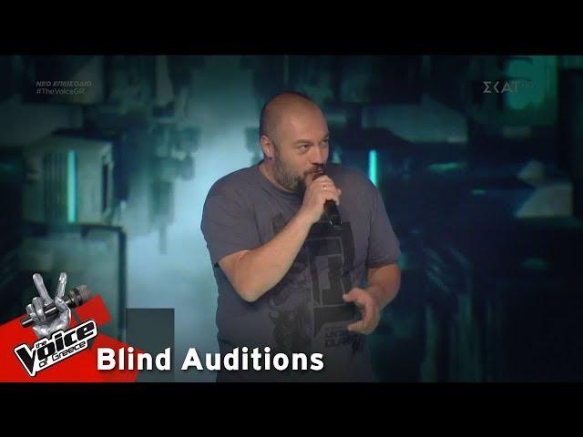 Παναγιώτης Παπαγεωργίου - Frozen   7o Blind Audition   The Voice of Greece