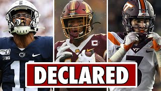 Players who have ALREADY DECLARED for the 2021 NFL Draft (Part 1)