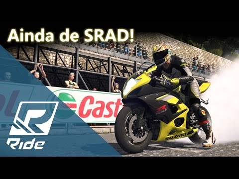 Ainda de SRAD! Suzuki GSX-R 1000 K5 - Turnê Mundial e Zoeria! :) | RIDE [PT-BR]