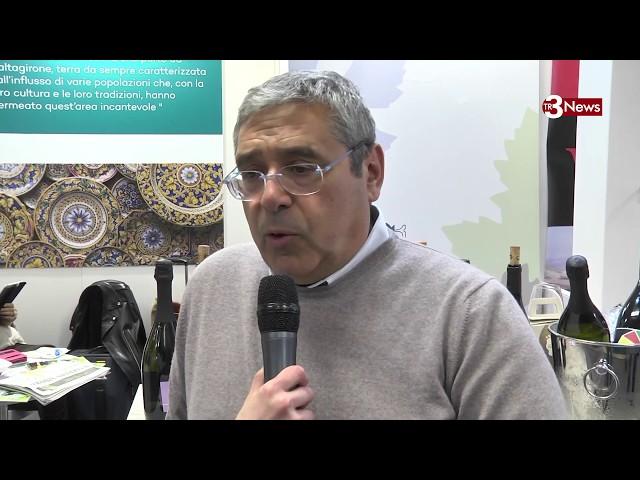 L'ex Presidente della Regione Siciliana toto Cuffaro al Vinitaly 2019