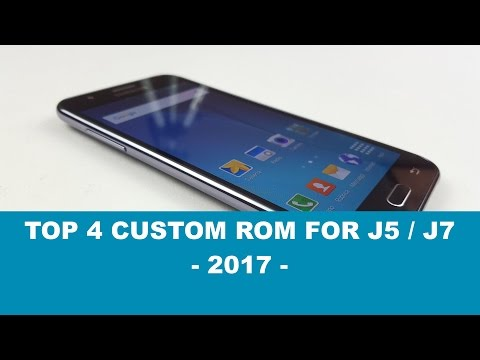 Top 4 Custom Rom For J7/J5 - Battery Life + Performance