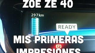 Renault Zoe ZE 40 2017 Mis Primeras Impresiones