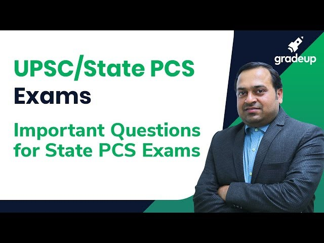 UPSC/State PCS Exams | Important Questions for State PCS Exams (Class 2) By Abhishek Sir