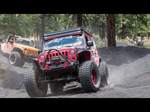 Volcanic Off-Roading: Mogollon Rim to Cinders to Jacob Lake! Part 4 - Ultimate Adventure 2017