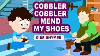 Cobbler Cobbler Mend My Shoe    Nursery Rhymes   Kindergarten Song   Children Rhymes   Koo Koo TV