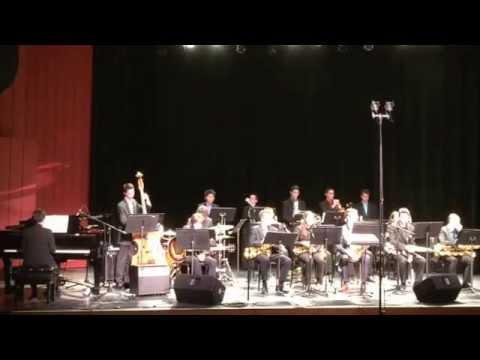 Nassau Suffolk Jazz Band. A Child Is Born. CW Post Tilles Center. 1/31/15