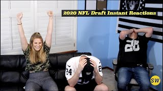 2020 NFL Draft First Round Instant Reactions and Analysis from the Sideline Warning Crew and Friends
