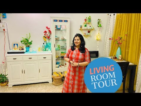 Living Room Tour | Indian Small Living Room Organization, Decoration Ideas & Makeover | Diwali 2019