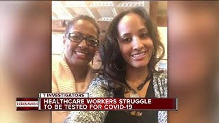 Repeatedly denied a COVID-19 test, Beaumont healthcare worker dies