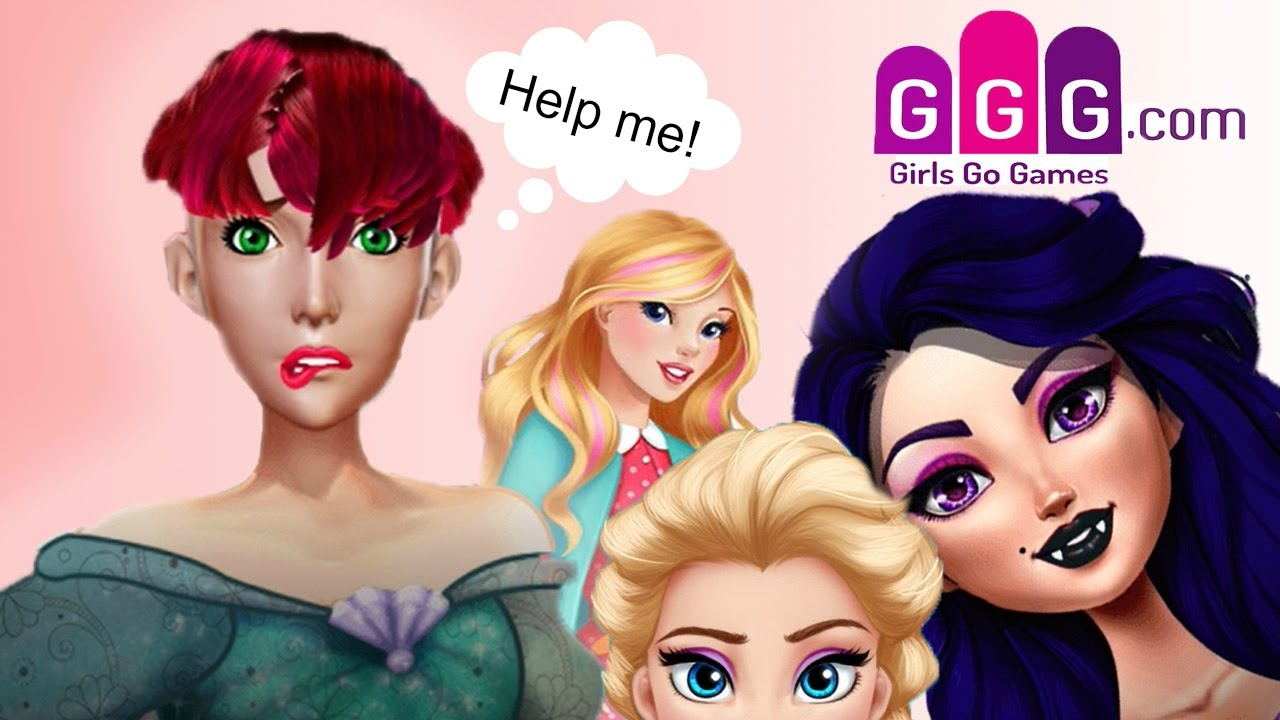 Girls Go Games -- I\'m the Worst Hair Dresser Ever!!! - YouTube