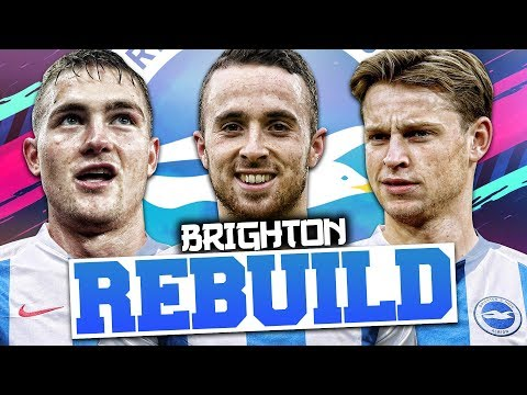 REBUILDING BRIGHTON AND HOVE ALBION!!! FIFA 19 Career Mode